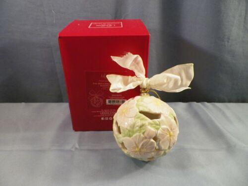 Lenox 2015 Christmas Rose Kissing Ball Christmas Tree Ornament