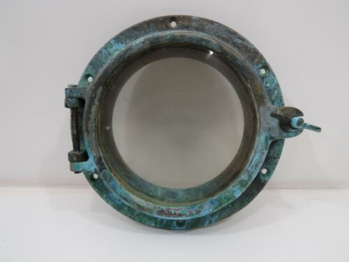 6 inch Glass  Bronze Porthole -(XA5C117)