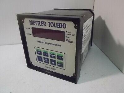 Mettler Toldeo Model 4300 Dissolved Oxygen Transmitter