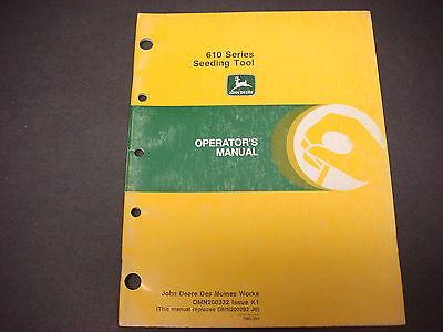 John Deere Operators Manual No.om-n159398issue G51600mmounted Chisel Plow