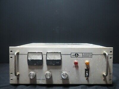 Vintage Rare Sorensen Nobatron Dcr300-5a Dc Power Supply