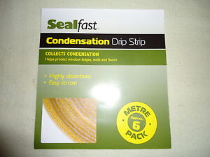 Sealfast Condensation Drip Strip Extra Value double length 6 metre pack - NEW