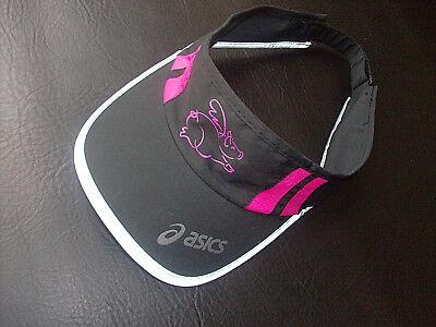 Asics Winter Running Headband Orange Black Reversible Reflective Warm Men Women
