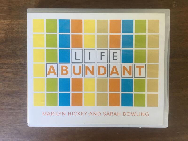 Life Abundant by Marilyn Hickey & Sarah Bowling (4CD Set)
