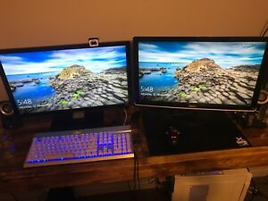 Gateway and Dell 24inch Monitors
