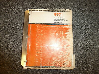Case 530 531 535 540 541 545 Draft-o Matic Tractor Parts Catalog Manual Manual