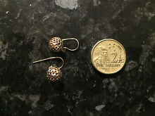 9ct Yellow Gold Hook Earrings Cooranbong Lake Macquarie Area Preview