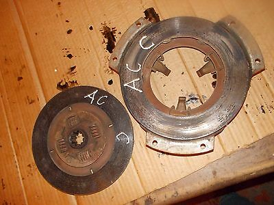 Allis Chalmers C Tractor Transmission Engine Clutch Pressure Plate Assembly