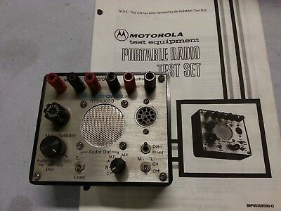 Motorola Rtx-4005b Portable Radio Test Set F42