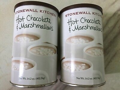 **2 Cans X 14.2oz Stonewall Kitchen Coffee Marshmallow Hot Chocolate drink cocoa ()