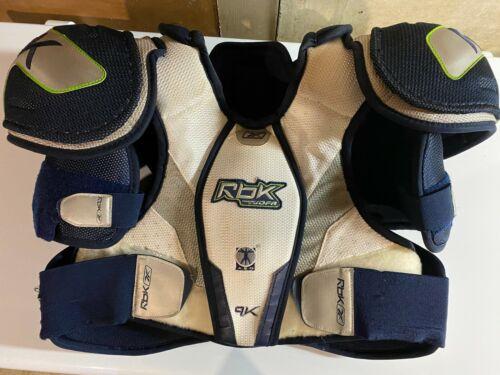 Reebok 9K Pro Level Shoulder Pads (Adult Large / Size 5) Jofa Design