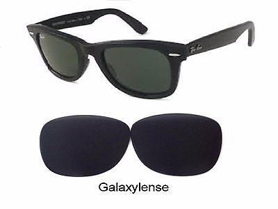 Galaxy Replacement Lenses Ray Ban RB2140 Original Wayfarer Black 50mm (Wayfarer Rb2140 Replacement Lenses)