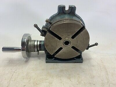 Yuasa 550-046 6in Horizontal Vertical Rotary Table Great Working Condition