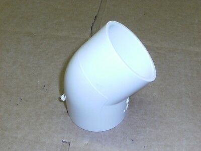 """2"""" Socket PVC 45 Degree Sched 40,"""