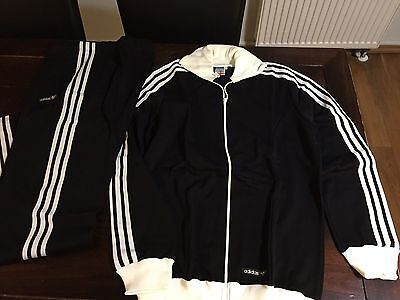 Vintage Adidas Track Suit 1970's Rare Made in West Germany D8 Deadstock