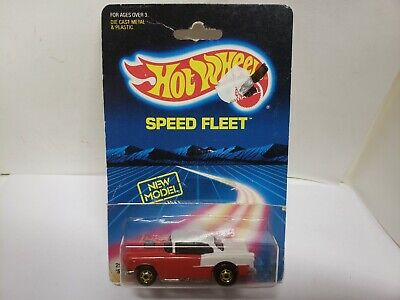 1980's Hot Wheels The Hot Ones 55 Chevy Red White GW
