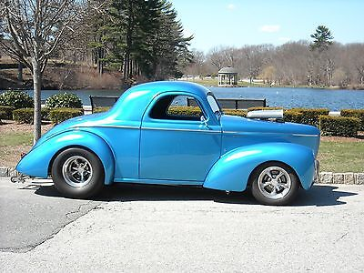 1941 Willys Estate Sale - No Reserve!! Custom Pro Street 1941 Willys Coupe -Estate Sale- Must Go, 90K+ invested - No Reserve!!