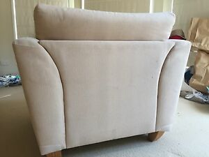 Cream arm chair Rangeville Toowoomba City Preview