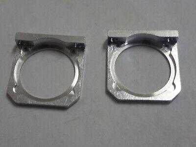 Lot Of 2 Universal Laser Lens Frame For Standard Lensoptics