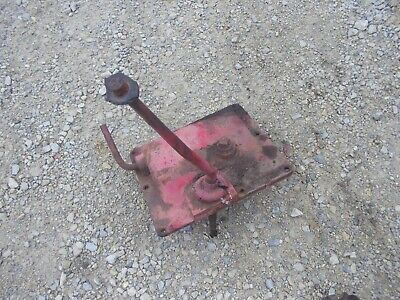 Massey Harris 44 Tractor Original Mh Transmission Top Gear Shifter Tower