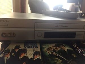 212 VHS movies and VCR