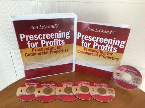 PRESCREENING FOR PROFITS COMMERCIAL REAL ESTATE SYSTEM BY RON LEGRAND