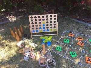 Giant Games Pack for Weddings, Parties Indoor/Outdoor $100 Perth Perth City Area Preview