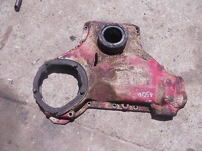 Farmall 450 400 Diesel Tractor Original Ih Motor Engine Front Cover