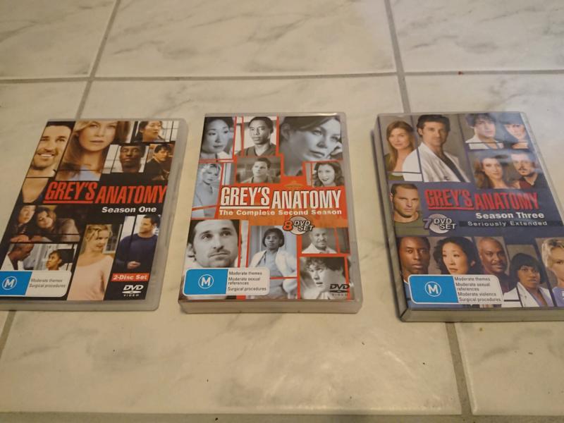 Greys Anatomy season 1-3 | CDs & DVDs | Gumtree Australia Kalamunda ...