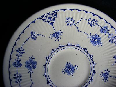 "Furnivals Blue and White Denmark 5 5/8"" Saucer"