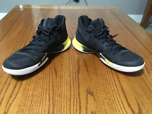 Kyrie 3 Black/Yellow