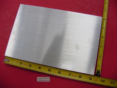"""1/2"""" X 6"""" ALUMINUM 6061 FLAT BAR 9"""" long Solid T6511 Extruded Plate Mill Stock"""