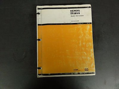 Case Model 450 Crawler Parts Catalog D930