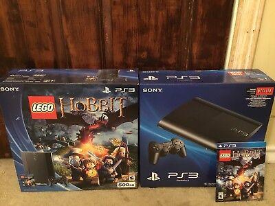 Sony PlayStation 3 LEGO: The Hobbit Bundle 500GB Black Console