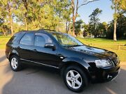 2004 Ford Territory Ghia Wagon 4x4 Dual Fuel Log Books  Black L Moorebank Liverpool Area Preview