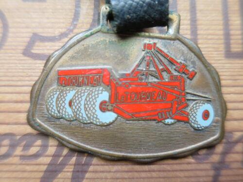 RARE Vintage CATERPILLAR Tractor WATCH FOB San Leandro CA. Peterson