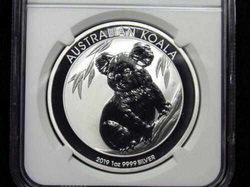 2019P Australian Silver Dollar KOALA NGC MS70
