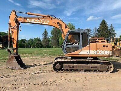 1998 Case 9020b Hydraulic Excavator W Aux. Hydraulics 86 Wide
