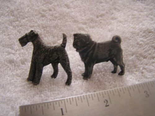 Lot of Two Vintage Kenart England Dog Pins