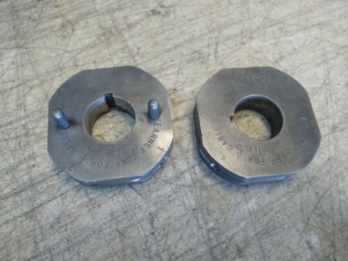 """Kearney No 7-1 Swaging Machine Cable Swager Tool Terminal Die 1/8"""" 13838-25 &-22"""