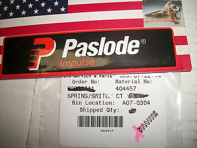 Paslode Part 404457 Switch Spring - Single Piece