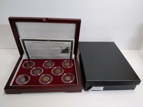 The Constantinian Dynasty 8 Bronze Coin Collection