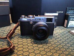 Fujifilm X100 + accessoires