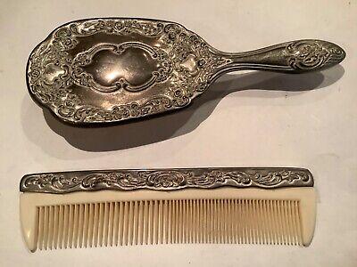 Hair Brush Dressing Table Set, Dressing Table Brush Comb Mirror Set