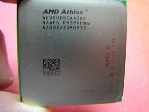 AMD ATHLON 64 X2 5000 2.6Ghz 1MB AM2 ado5000iaa5do Dual Core 500b 5000