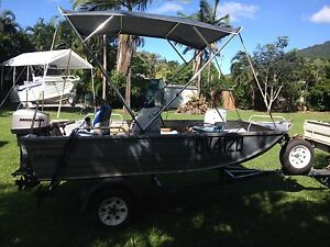 3.95 Stacer ProLine 25hp Mariner and heaps of accessories. Cooktown Cook Area Preview