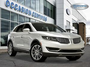 2016 Lincoln MKX Reserve BLIS+CRUISE ADAPT