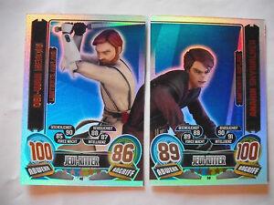 Star Wars Serie 5: Limitierte Karten LE 49 + LE 50. NEU !