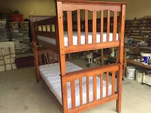 Bunk bed, Solid Timber with new mattresses Excellent Condition Stanthorpe Southern Downs Preview