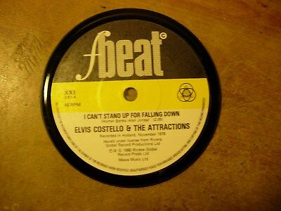 ELVIS COSTELLO VINYL RECORD COASTER (1) (FREE POST!!)